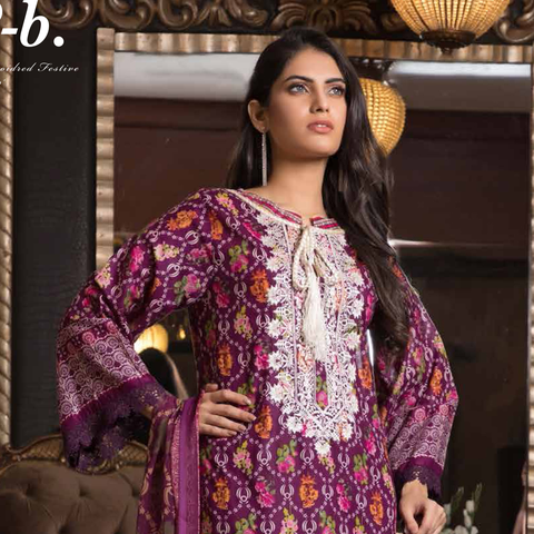 Sahil Exclusive Embroidered Festive Collection 19 - 02 B - test-store-for-chase-value