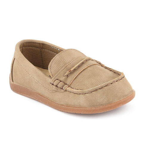 Boys Loafer (021-1) - Khaki - test-store-for-chase-value