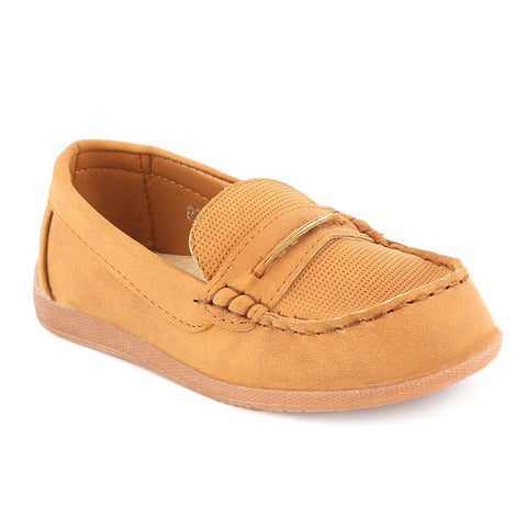 Boys Loafer (021-1) - Camel - test-store-for-chase-value