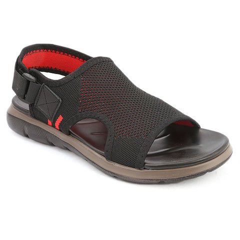 Men's Sandal (3D-2) - Black
