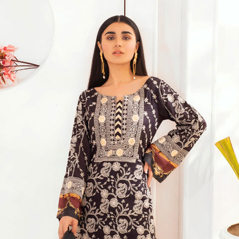 Kalyan Embroidered Lawn 3 Piece Un-Stitched Suit - 05