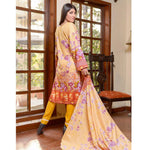 Libas Printed Lawn 3 Piece Un-Stitched Suit Vol 1 - 6 B