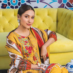 Regalia Digital Printed Embroidered Lawn 3 Piece Un-Stitched Suit - 08