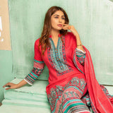 Sahil Printed Lawn 3 Piece Un-Stitched Suit Vol 1 - 10A