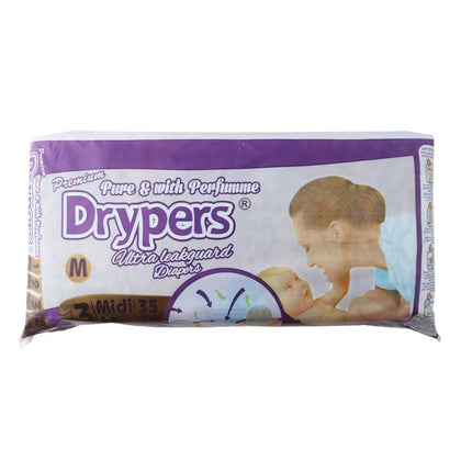 Drypers Diapers Medium 35 pcs - test-store-for-chase-value