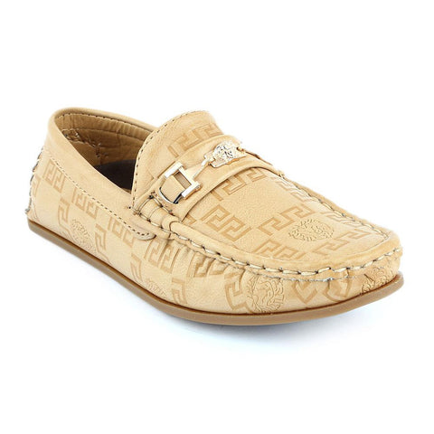 Eminent Loafer For Boys (10040) - Beige - test-store-for-chase-value