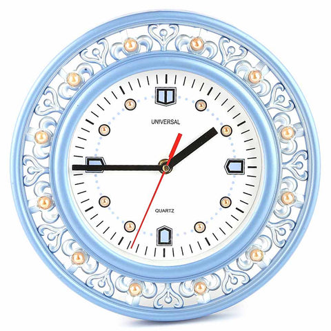 Analog Wall Clock 1004 - Blue