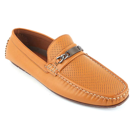 Men's Loafer Shoes (10216) - Camel