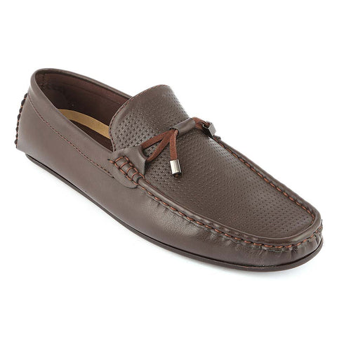 Men's Loafer Shoes (10K1) - Coffee