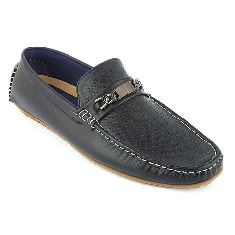 Men's Loafer Shoes (10K1) - Navy Blue