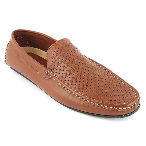 Men's Loafer Shoes (10K1) - Brown