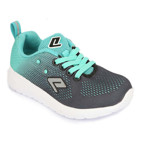 Girls Sports Shoes 102 - Sea Green