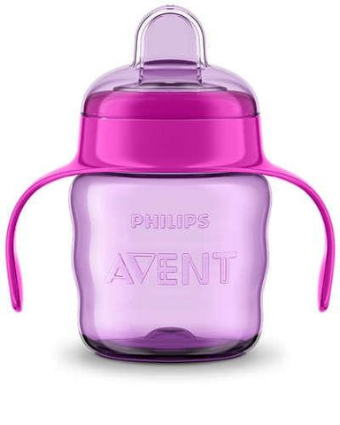 Avent Classic Spout Cup 200ml 7oz - Pink - test-store-for-chase-value