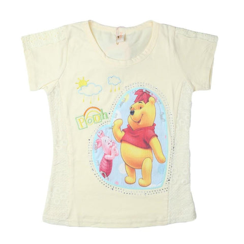 Girls T-Shirt Yellow - test-store-for-chase-value