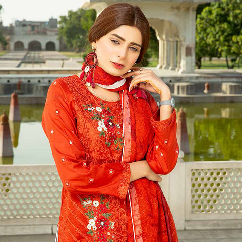 Shan-E-Mughal Embroidered Lawn Suit - 10 - test-store-for-chase-value