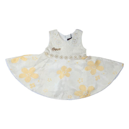 New Born Girls Frock Yellow - test-store-for-chase-value
