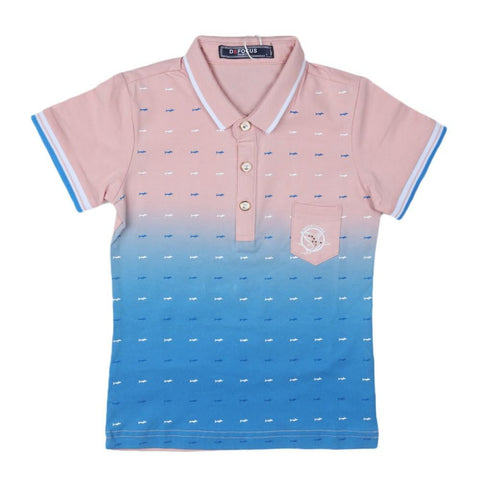Boys Polo T-Shirt Light-Pink - Light Pink - test-store-for-chase-value