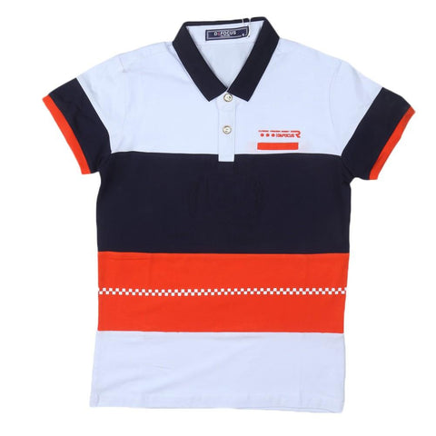 Boys Polo T-Shirt Navy-Blue - Navy/Blue - test-store-for-chase-value