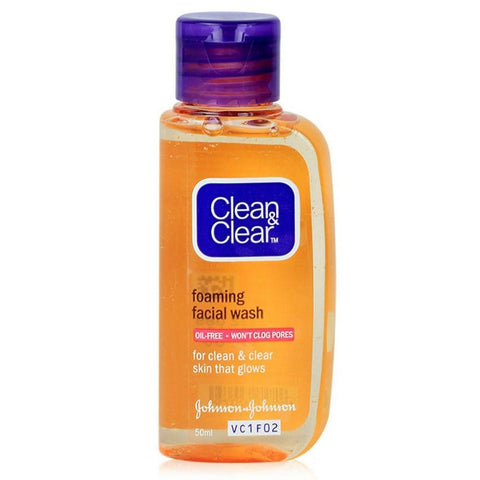 Clean & Clear Essentials Foaming Facial Wash 50ml - test-store-for-chase-value