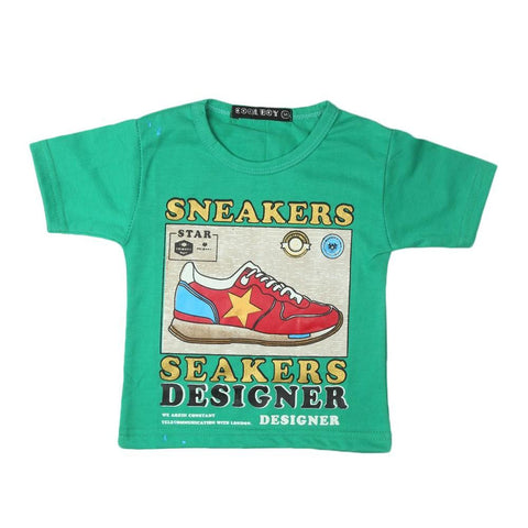 Boys T-Shirt (Green) - test-store-for-chase-value