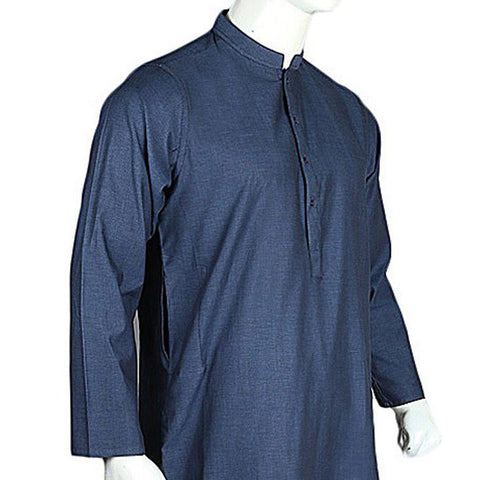 Men's Basic Kurta - Blue - test-store-for-chase-value