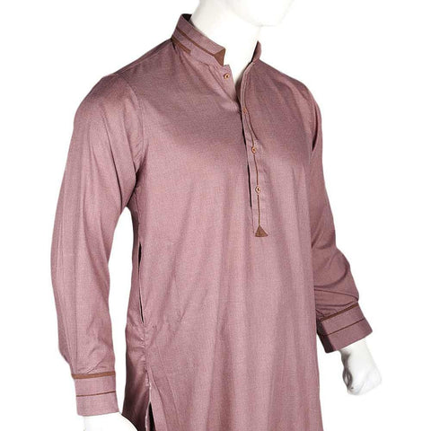 Men's Kameez Shalwar - Purple - test-store-for-chase-value