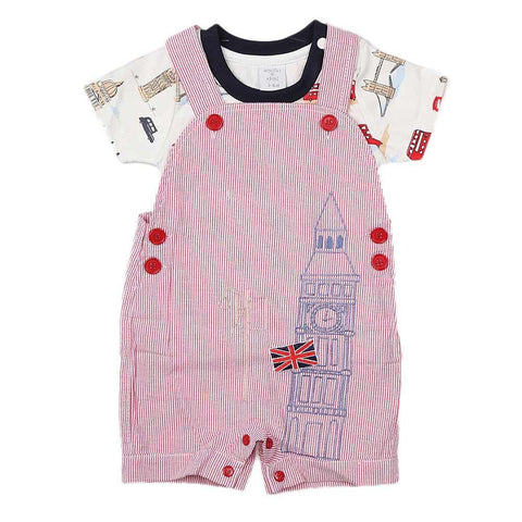 New Born Boys Romper - Pink - test-store-for-chase-value