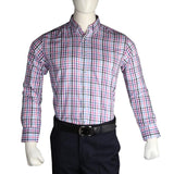 Men's Business Casual Shirt - Pink - test-store-for-chase-value