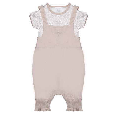 New Born Girls Romper - Fawn - test-store-for-chase-value