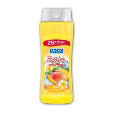 Lucky Super Soft Body Wash Mango & Papaya 444ml - test-store-for-chase-value