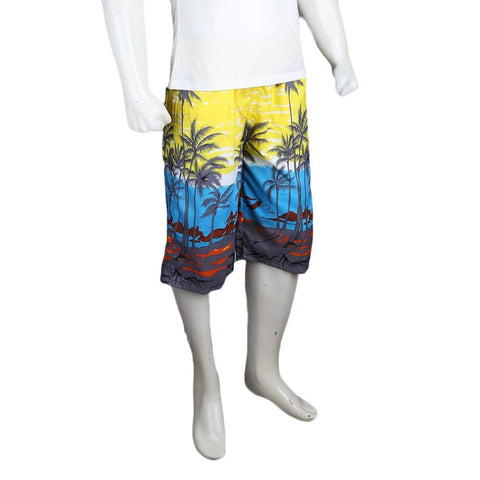 Men's Beach Short - Yellow - test-store-for-chase-value