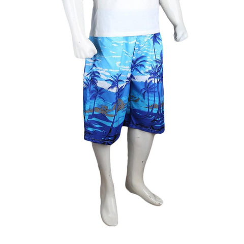 Men's Beach Short - Light Blue - test-store-for-chase-value