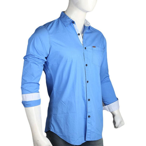 Men's Eminent Casual Shirt - Blue - test-store-for-chase-value