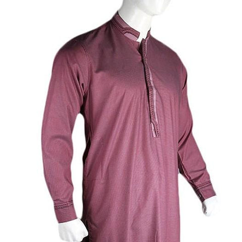 Men's Fancy Shalwar Suit - Purple - test-store-for-chase-value