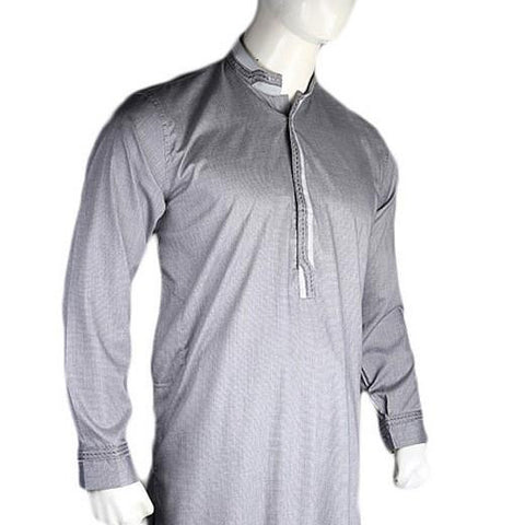 Men's Fancy Shalwar Suit - Grey - test-store-for-chase-value