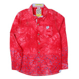 Boys Casual Shirt - Red - test-store-for-chase-value