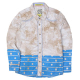 Boys Casual Shirt - Beige - test-store-for-chase-value