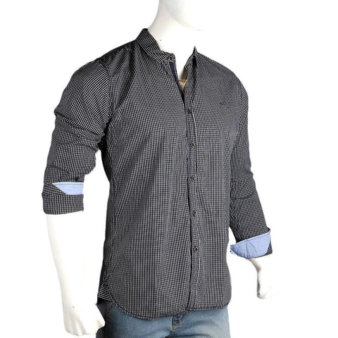 Men's Casual Shirt - Black - test-store-for-chase-value
