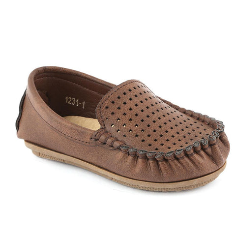 Boys Loafer (1231-1) - Brown - test-store-for-chase-value