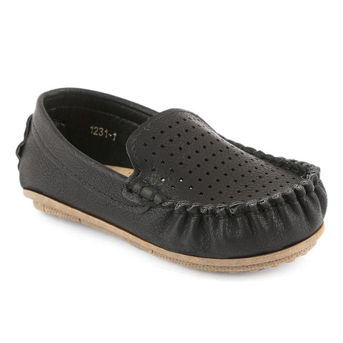 Boys Loafer (1231-1) - Black - test-store-for-chase-value