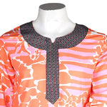 Women's Short Length Kurti -Pink - test-store-for-chase-value