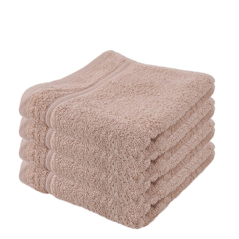 Terry Face Towel - Fawn - test-store-for-chase-value