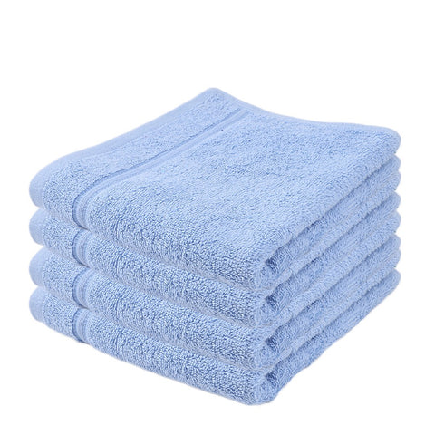 Terry Face Towel - Sky Blue - test-store-for-chase-value