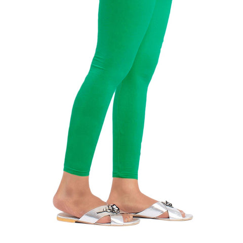 Women's Plain Tights - Green - test-store-for-chase-value