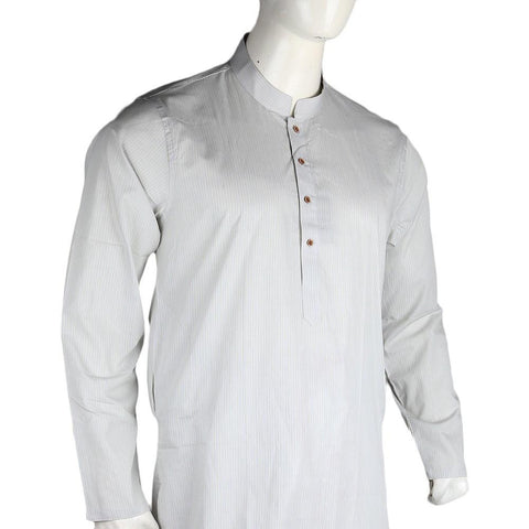 Men's Slim Fit Kurta - Light Green - test-store-for-chase-value