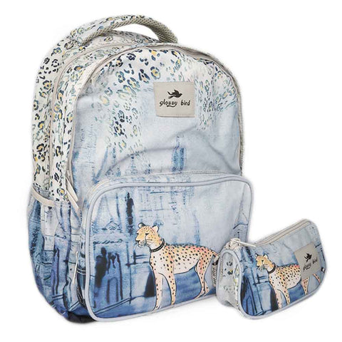 School Bag 2291 - Leopard