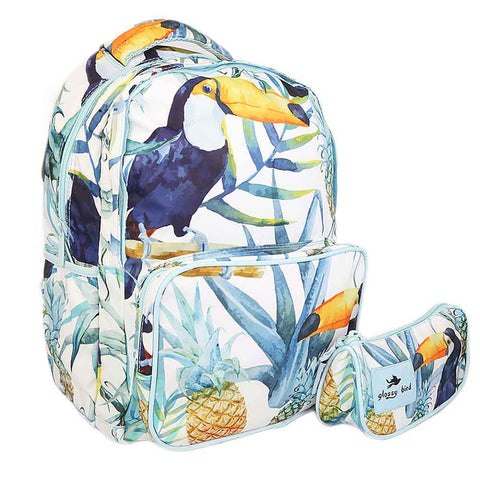 School Bag 2291 - Blue Stork