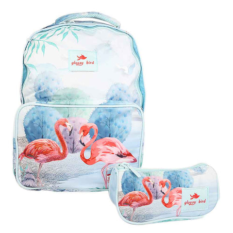 School Bag 2291 - Flamingo