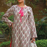 VS Signature Printed Lawn 3 Piece Un-Stitched Suit Vol 2 - 12 B