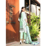Cotrina Printed Cotton 3 Piece Un-Stitched Suit - 13